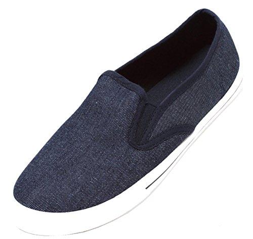 Zapato 12144 Azul Mocasines denim 760012r Eu Para 44 Hombre aqBa1x