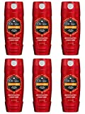 spice Old Spice Red Collection Body Wash, Desperado, 16 Fluid Ounce (Pack of 6)
