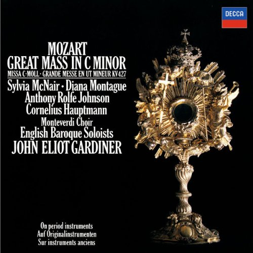 Mozart: Great Mass in C minor /McNair * Montague * Rolfe Johnson * Hauptmann * English Baroque Soloists * Gardiner by Philips