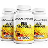 Natural Answers Bee Propolis 2000mg 270 Capsules Health & Immune Boosting