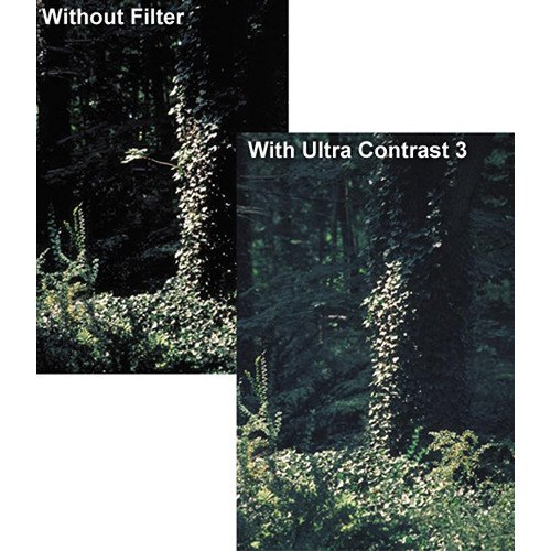 Tiffen 4x5.65 Ultra Contrast #1/8 Glass Filter