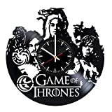 Game of Thrones main heroes Unique Wall Clock for bedroom, bathroom, kitchen, livingroom – gift idea for birthday, wedding, Mother's Day, Valentine's Day