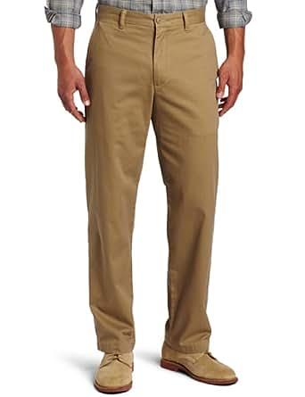 Dockers Men's Saturday Khaki D3 Classic Fit Flat Front Pant, New British Khaki, 30x30