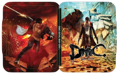 Devil May Cry Collectors (DMC: Devil May Cry Limited Edition Exclusive FutureShop SteelBook Case [G2 Size, No Game] NEW)