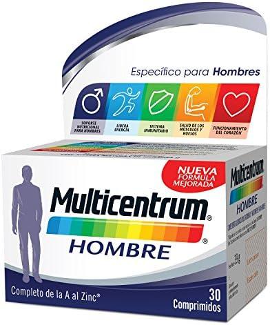 Multicentrum Hombre, Complemento Alimenticio
