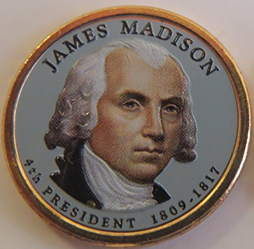 2007 Various Mint Marks Madison Presidential Colorized Dollar Choice Uncirculated