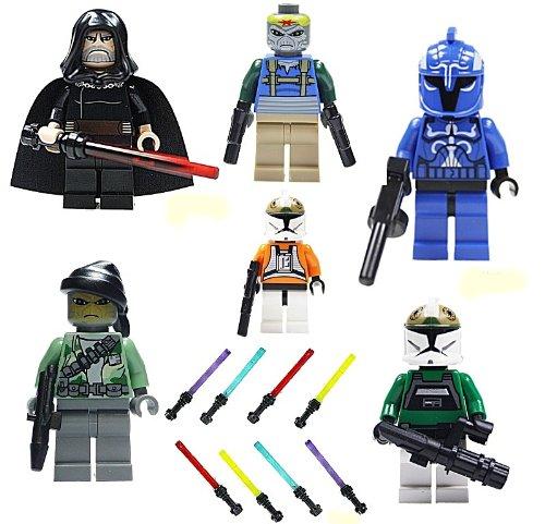 lego star wars figur savage opress sith zabrak mit doppellaserschwert und hornkranz vos. Black Bedroom Furniture Sets. Home Design Ideas