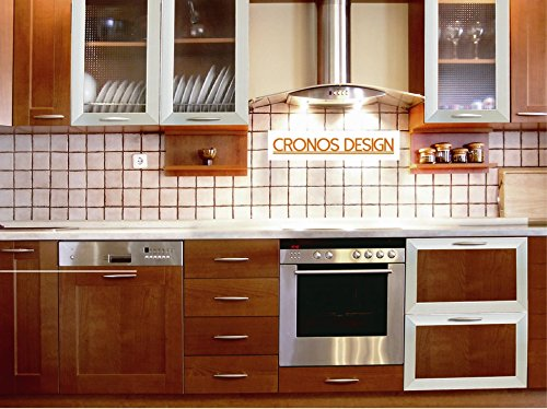 Cronos Design Custom Made Aluminum Frame Glass Cabinet Door