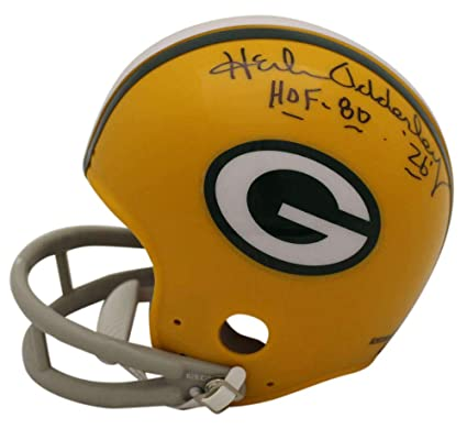 Amazon.com  Herb Adderley Autographed Green Bay Packers 2Bar Mini ... c09995dd7