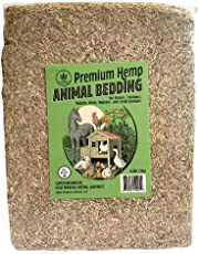 Happy Trees Premium Hemp Animal Bedding for Chicken Coop, Rabbits, Hamsters, Reptiles, Small Pets - Highly Absorbent, All Natural, Chemical-Free, Low Dust - 6.6lb/28L