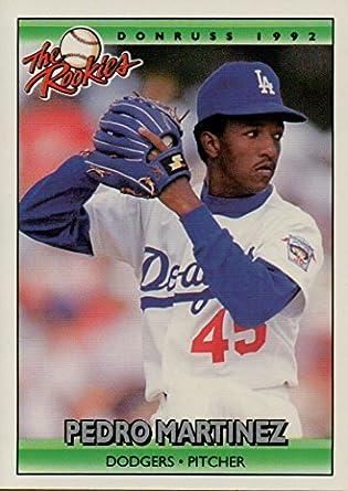 Pedro Martinez Rookie Card 1993 Donruss The Rookies