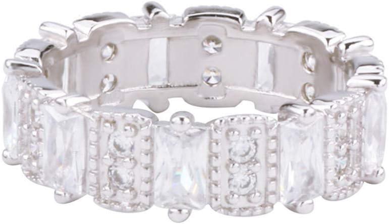 Anillos Ring Anillo De Piedras Preciosas De Simulación Anillo De Diamantes De Moda Femenina Gótico