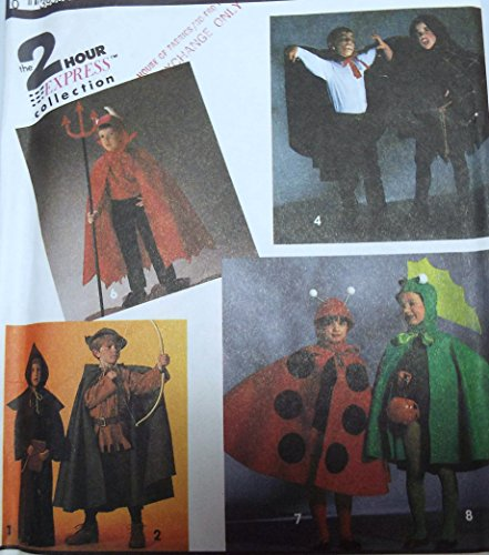 Friar Tuck Costumes - Simplicity Halloween Costumes 7470 with Cape