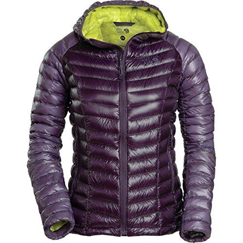 Ripstop Hooded Down Jacket (Mountain Hardwear Ghost Whisperer Hooded Down Jacket - Women's Blurple)