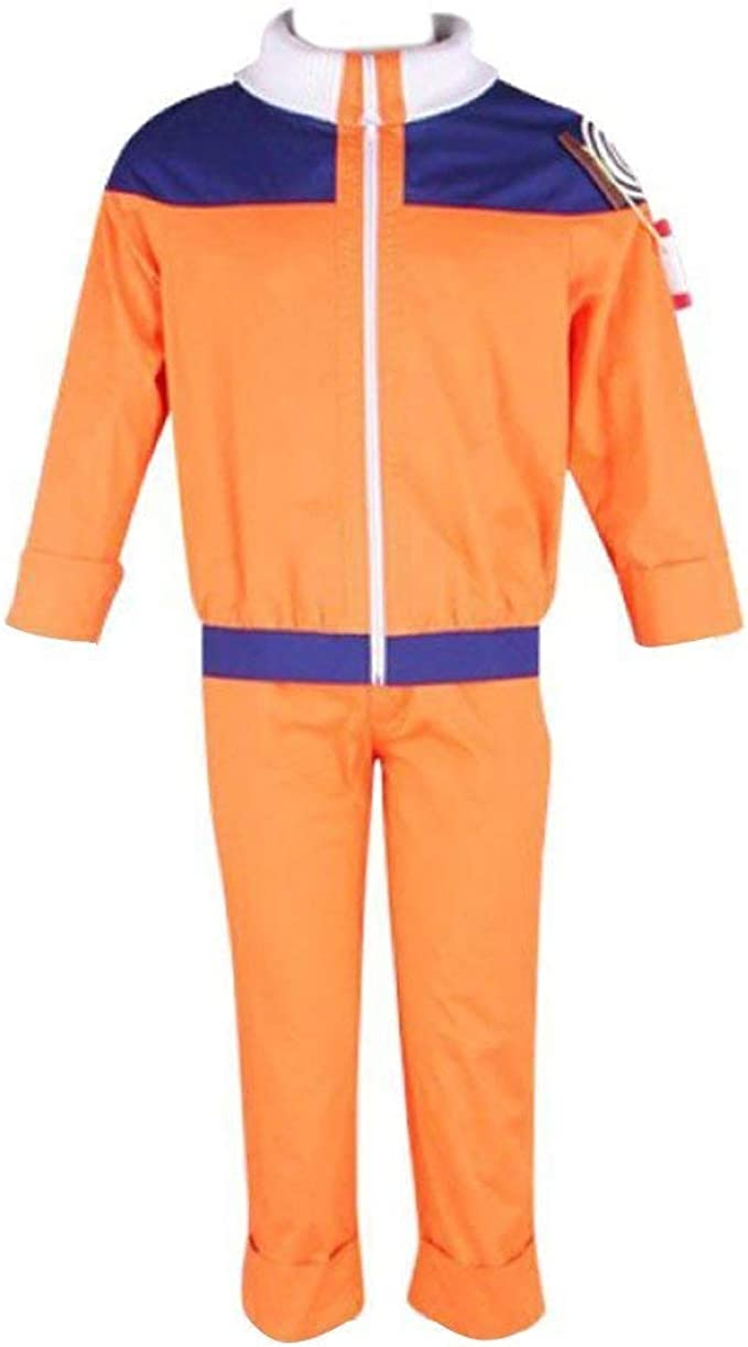 Dream2Reality Naruto Uzumaki Naruto Cosplay Costume 1st Ver Medium: Amazon.es: Ropa y accesorios
