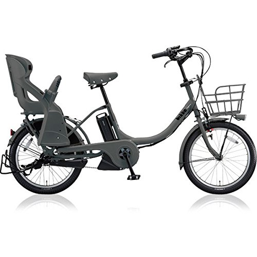 ブリヂストン(BRIDGESTONE) 18年モデル ビッケモブ e BM0C38 20インチ 電動アシスト自転車 専用充電器付 B07649J2R3 E.XBKダークグレー E.XBKダークグレー