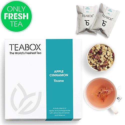 Teabox Apple Cinnamon Fruit Tea, 16 Tea Bags