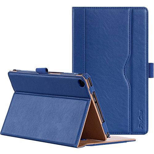 ProCase ASUS ZenPad 8.0 Z380M Case (2015 ZenPad Z380C,Z380CX,Z380KL) - Stand Cover Folio Case for ASUS ZenPad 8.0 8-Inch Tablet, Multiple Viewing Angles, Document Card Pocket (Navy Blue)