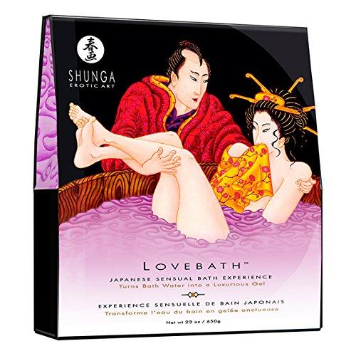 Shunga Love Bath Lotus, Sensual Lotus, Bath Color Lila - 650 gr 72a3f7