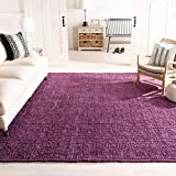 Safavieh Natural Fiber Collection NF447B Hand Woven Purple Jute Area Rug (6' x 9')