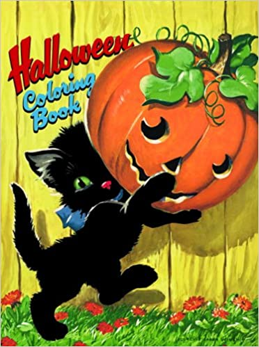 Amazon Com Halloween Coloring Book Novelty Coloring Book