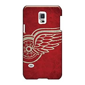 AshleySimms Samsung Galaxy S5 Mini Durable Hard Phone Cases Support Personal Customs Vivid Detroit Red Wings Image [qWb5357mPPh]