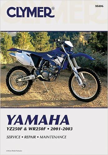 Yamaha YZ//WR250F 2001-2003