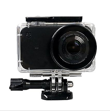 flycoo conjunto de 50: accesorios para Xiaomi mijia 4 K Cámara de acción Carcasas impermeable selfie perche bandolera Base Fijación Tornillo para ...