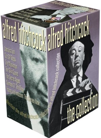 Alfred Hitchcock: The Collection (The 39 Steps / Jamaica Inn / Young and Innocent / The Manxman / The Secret Agent / Number 17 / The Ring / The Skin Game / The Cheney Vase) (Armstrong Vase)