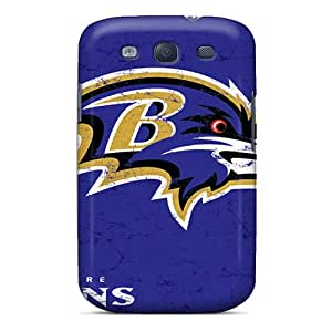 S3 Scratch-proof Protection Case Cover For Galaxy/ Hot Baltimore Ravens Phone Case