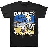 Dead Kennedys Men's Cambodian Skeleton T-shirt Black