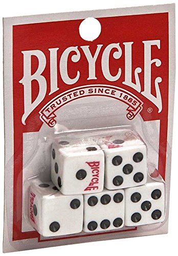 Bicycle 5 count dice ()