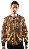 Barabas Glam Gold Jacket, XX Large