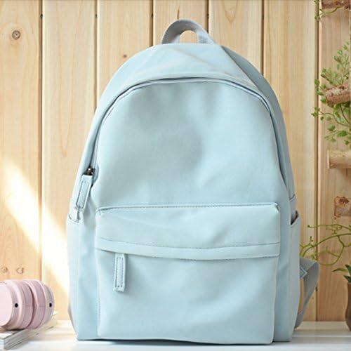 ご列席の皆様、リュックサック、女子学生を対象とした、バッグ、レジャー、 Pu 、純粋な色の旅行バッグ潮
