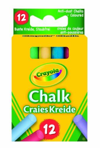 Crayola Anti Dust Assorted Chalk