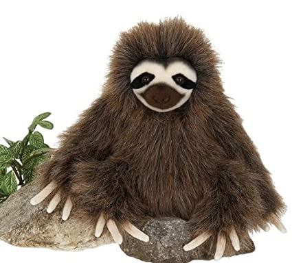 Amazon Com 7 Three Toed Sloth Sitting Plush Stuffed Animal Toy By