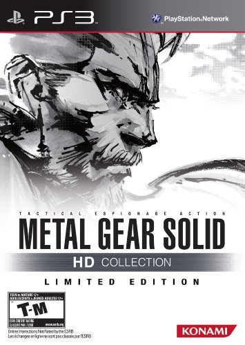 (Metal Gear Solid HD Collection Limited Edition - Playstation 3)