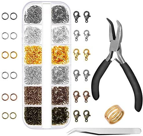 Anezus 1020Pcs Jewelry Supplies Beading product image