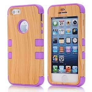 TY-Estampado de leopardo de la PU Leather Case cuerpo para el iPhone 4/4S
