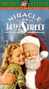 Miracle On 34th Street VHS Edmund Gwenn