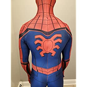 - 51RTS5oSxzL - CosplayLife Spider-Man Homecoming Avengers Infinity War Cosplay Costume Iron Spider Suit