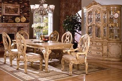 Amazon.com - Inland Empire Furniture Tuscany Antique White ...