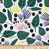 Designed by Leah Duncan for Cloud 9 Fabrics this 100% organic GOTS certified cotton print batiste is a light semi-sheer finely woven fabric that is perfect for heirloom sewing lingerie and blouses to be worn with a cami. It is floaty light and absolu...