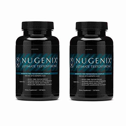 Nugenix Ultimate Testosterone 120 Ct (Pack 2) by Nugenix