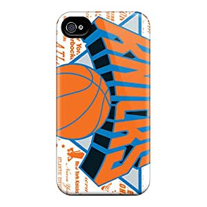 JoanneOickle Iphone 4/4s Perfect Hard Cell-phone Cases Allow Personal Design High-definition New York Knicks Image [zYH15412VpUw]