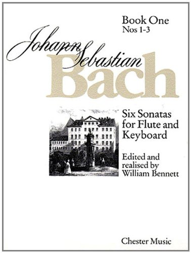 6 Sonatas for Flute and Keyboard: Book One (Nos. 1-3) (Numbers 1 - 3 Bk. 1)