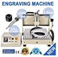 WUPYI 3 Axis Engraver 1.5KW VFD CNC 6040 Router Milling Engraving Machine 3D Printer