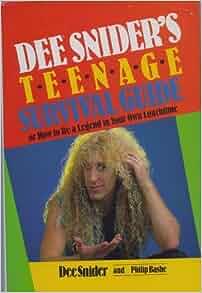 Dee sniders teenage survival guide book