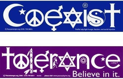 Car Sticker Peace Bumper Sticker Coexist Bumper Sticker Coexist Decal Coexist Sticker Religious Decal Unity Sticker,Acceptance Sticker