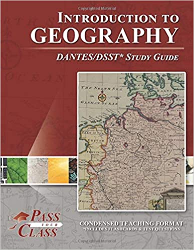 Introduction to Geography DANTES / DSST Test Study Guide